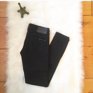 Buffalo by David bitton low rise black jeans - 27
